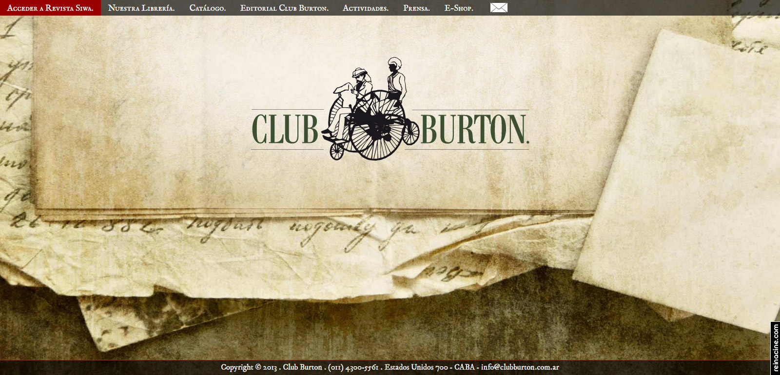 Club Burton.